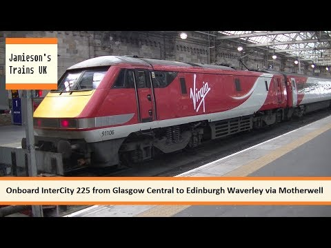Onboard InterCity 225 from Glasgow Central to Edinburgh Waverley via Motherwelll
