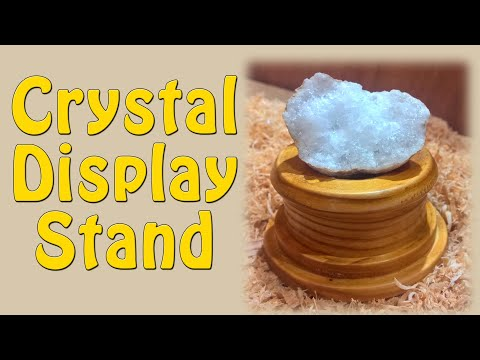 Crystal Display Stand - Episode 25