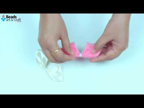 DIY Hair accessories | How to make  kids Hair clips  | Beads art