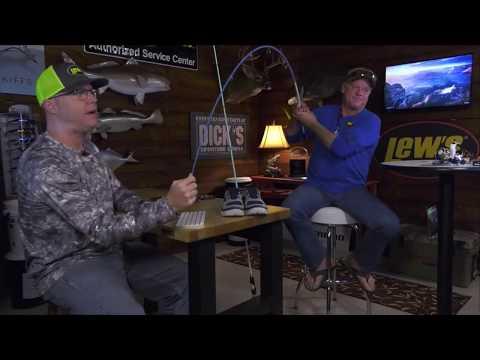 AF LIVE - Capt Blair Wiggins Talking Inshore Speed Stick Fishing Rods