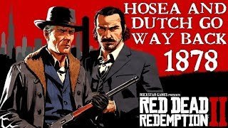 Red Dead Redemption 2 | Dutch and Hosea met at Chicago in 1878
