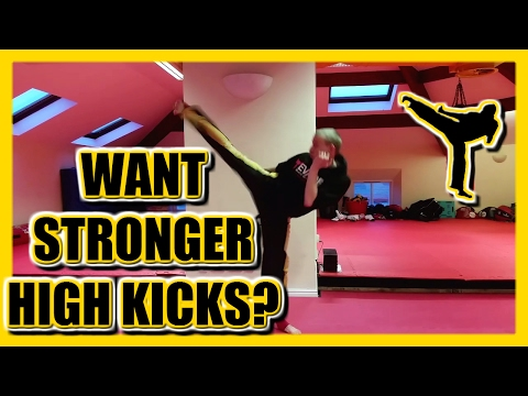 Kicking Drills Training Routine for Stronger and Higher Kicks