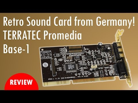 TERRATEC Promedia Base 1 Sound Card ISA DOS Review