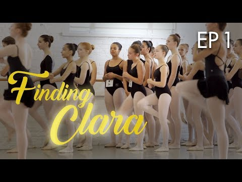NUTCRACKER AUDITIONS - FINDING CLARA - EP 1 💗 JUSTICE