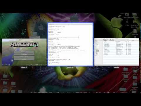Minecraft 1.5.2 Zombe MODPACK 26 Mods (10 for MULTIPLAYER (fly)| Tutorial Mac + Pc Chat hack