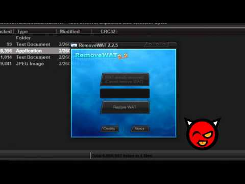 دانلود windows 7 genuine activation removewat v2.2.6.0