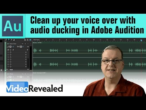 Clean up your voice over with audio ducking in Adobe Audition