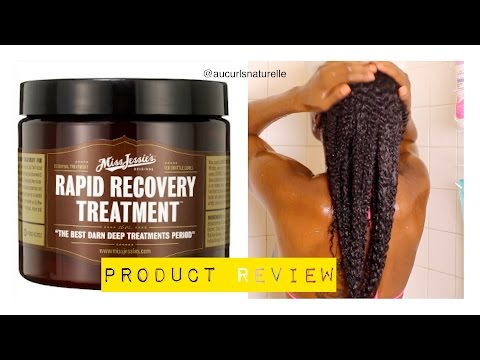 PRODUCT REVIEW- MISS JESSIE'S RAPID RECOVERY TREATMENT