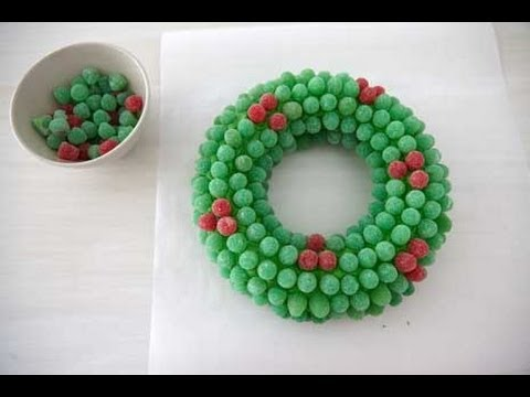Christmas Desserts: How To Make A Gumdrop Wreath