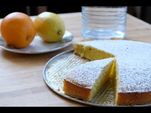 Orange & Lemon Olive Oil Cake (Torta agli agrumi e olio d'oliva)