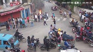Student Gang War Live Video   Viral @ Trichandra Collage, Kathmandu