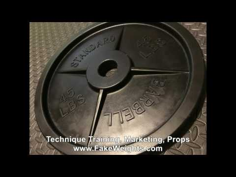Best Barbell Training Plate | Fake Weights™