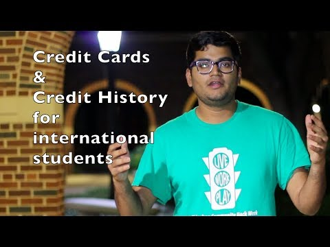 Importance of Credit Cards and Credit History for International Students | That Indian Guy