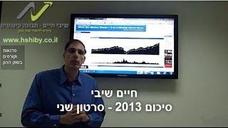 #x202b;חיים שיבי - הזדמנויות השקעה בשוק ההון - סיכום שנת 2013 - סרטון שני#x202c;lrm;