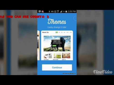 How to make your own website Using Android!