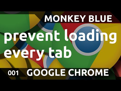 Great Suspender: how to not load every tab in Google Chrome