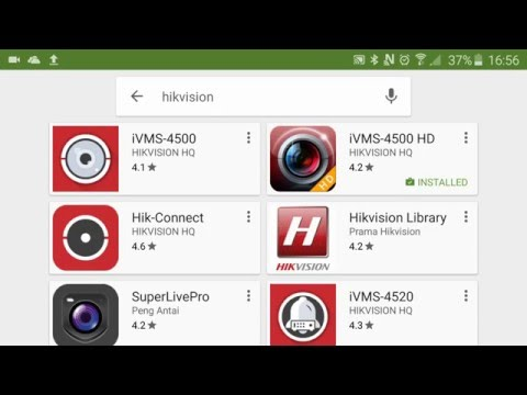 How to Setup a Hikvision CCTV DVR for remote viewing, Hikvision iVMS 4500 App