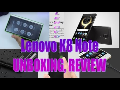 Lenovo K8 Note Unboxing, Review, Full Specification