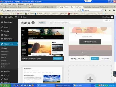 How to install WordPress on WAMP