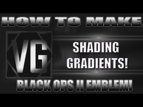 Black Ops 2 - How to create Shading Effects on emblems!