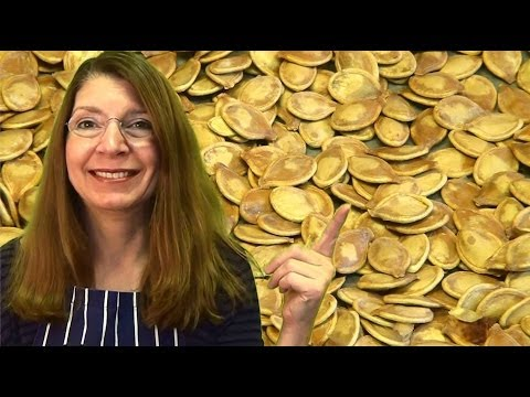 AWESOME! Roast Pumpkin Seeds! Pepitas! Great as Snacks or on Salads! Sprig Barton