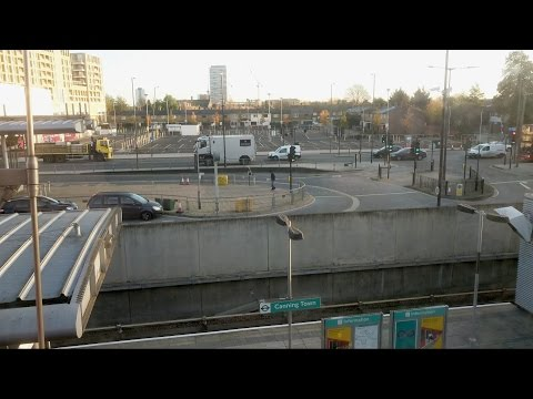 Canning Town to London City Airport by Docklands Light Railway (DLR)