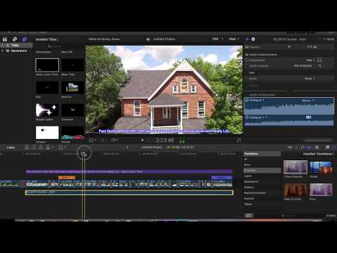 How to EXPORT/RENDER a section of a timeline! Final Cut Pro X