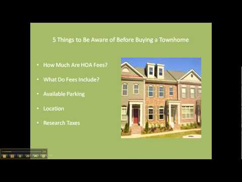 5 things to consider before buying a townhome - Century 21 Northside