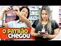 O PATRÃO CHEGOU - PIADA DE TRABALHO - PARAFUSO SOLTO