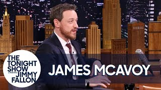 James McAvoy Watched Wanted in Jennifer Lawrence