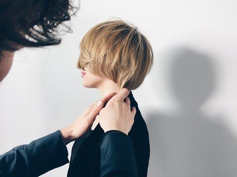 how to cut layered bob - haircut tutorial