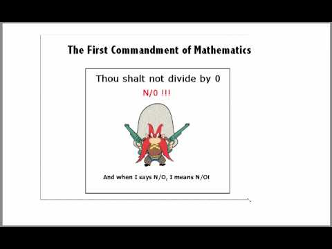 Domain restrictions and the First Commandment of Mathematics.mov