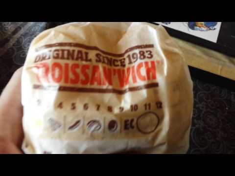 Burger King's Sausage Egg & Cheese Croissanwich