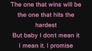 Download Pink - please don't leave me lyrics
