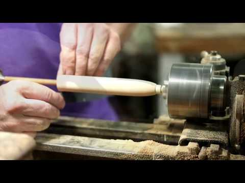 Shaping a Grip on a Bamboo Fly Rod