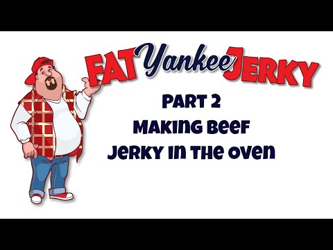 Making Beef Jerky in the Oven Part 2 (Safe Beef Jerky)