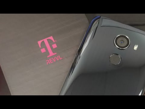 Revvl T-Mobile Smartphone Unboxing & Overview. Is It Worth $125? Also Pic Slideshow.