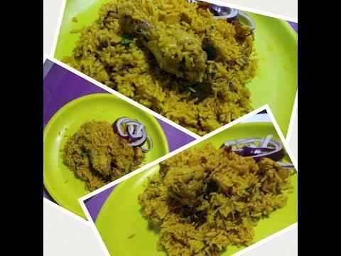 Masth Methi Chicken Pulao in Pressure Cooker-Under 20 mins