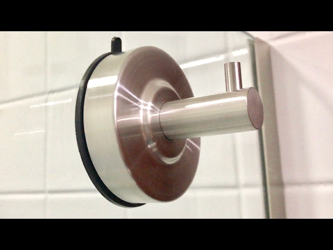 Stainless Steel Suction Cup Bathroom Towel Hook KES SUS 304 A6260 review