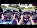 BMW M2 vs A45 AMG | 0-250km/h ACCELERATION TOP SPEED SOUND & AUTOBAHN POV by AutoTopNL