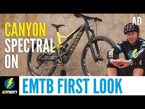 Canyon Spectral:ON | EMBN's First Look At Canyon's 1st Ever E Mountain Bike