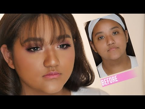 K-POP Prom Makeover for deep olive skin   GDiipa Makeover