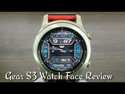 Gear S3 and Gear Sport Watch Face Review