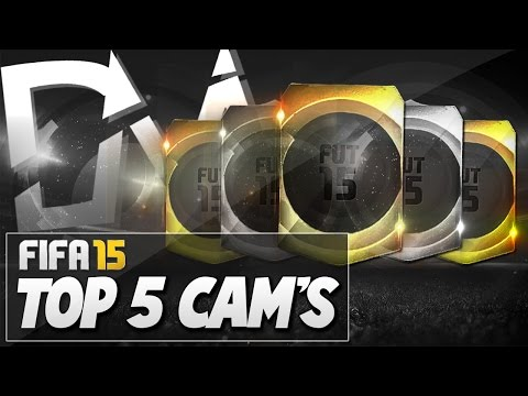 Top 5 Best Midfielders (CAM)  in FIFA 15 Ultimate Team  - Guide to Best Squad (FUT 15)