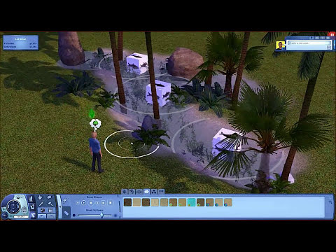 The Sims 3 Tutorials - How to design a pond
