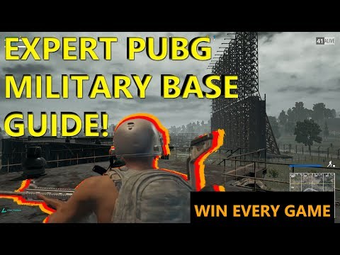 EXPERT PUBG MILITARY BASE GUIDE | WIN IN SOSNOVKA EVERY GAME