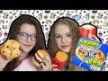 SQUISHY VS REAL FOOD CHALLENGE!