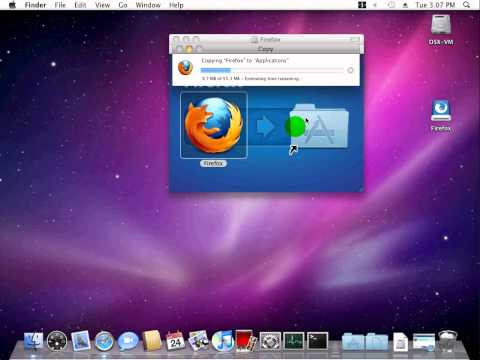 How To Install Applications in OSX Snow Leopard