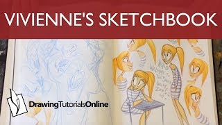 Vivienne's Sketchbook - For the Love of Animation