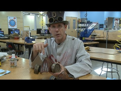 Steampunk Gas Mask How-To - The Horror Show